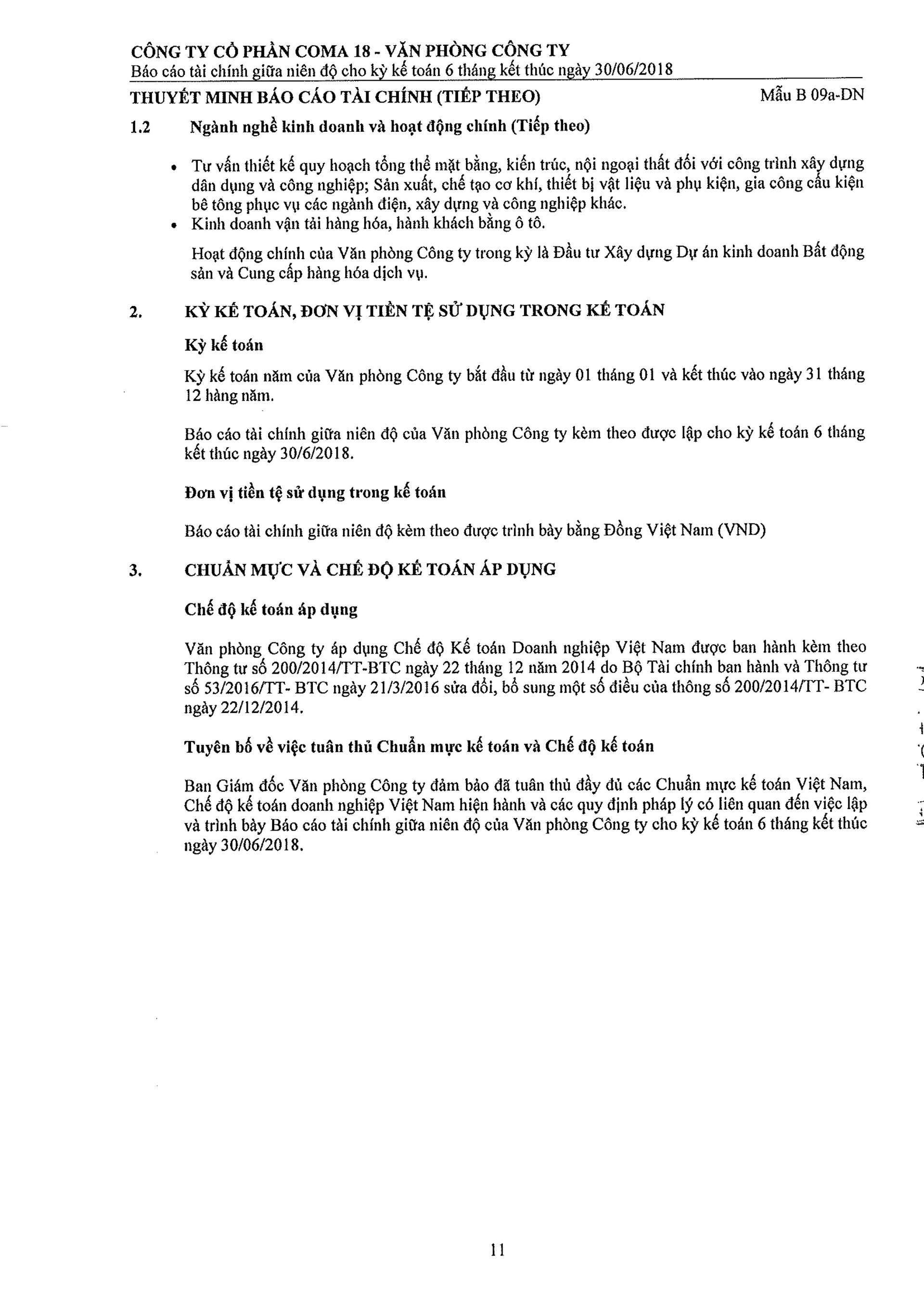 Báo cáo Tài chính COMA 2-12